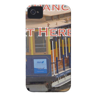 Anfang hier! San Francisco iPhone 4 Cover