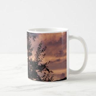 Anfang September Dämmerung Kaffeetasse