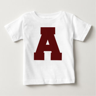 Anfangsbuchstabe A Baby T-shirt