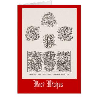 Anfangsbuchstaben, Nürnberg 1500 Karte