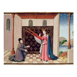 Angebote Dame Philosophy zu Boethius Flügeln Postkarte