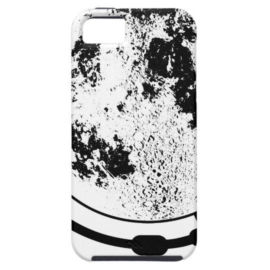 Angebrachte Mondkugel auf drehendem Schwenker Etui Fürs iPhone 5