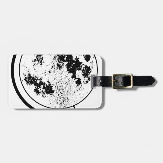 Angebrachte Mondkugel auf drehendem Schwenker Gepäckanhänger