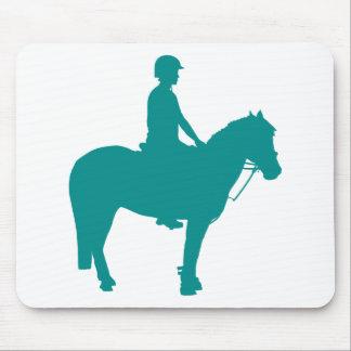Angebrachtes Spiel-Pony Mousepad