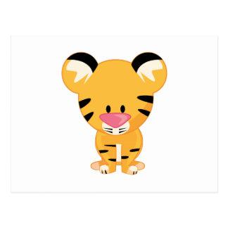 Angefüllter Tiger Postkarte