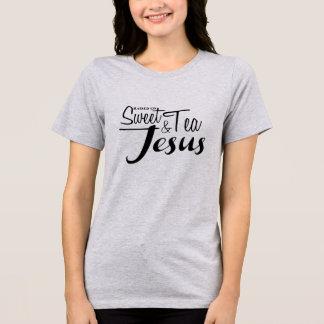 Angehoben auf süßen Tee und Jesus