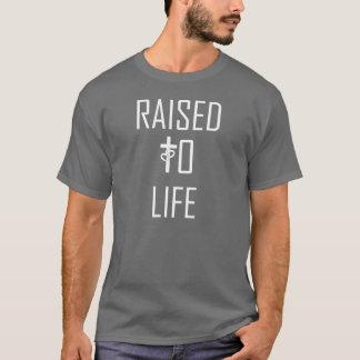 ANGEHOBEN zum inspirierten T-Stück des T-Shirt