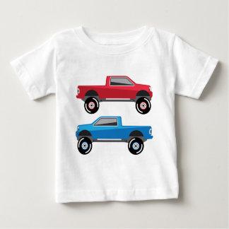 Angehobener Lieferwagen-LKW Baby T-shirt