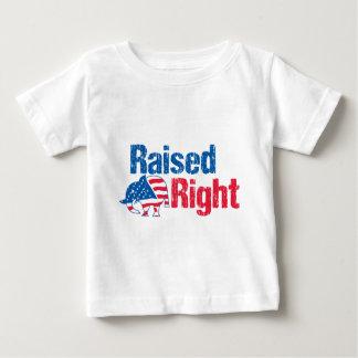 Angehobener nach rechts - Republikaner Baby T-shirt