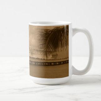Angekoppelt in Cozumel Kaffeetasse