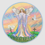 Angel Blessing Stickers