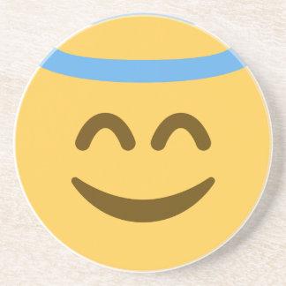Angel Emoji Getränkeuntersetzer