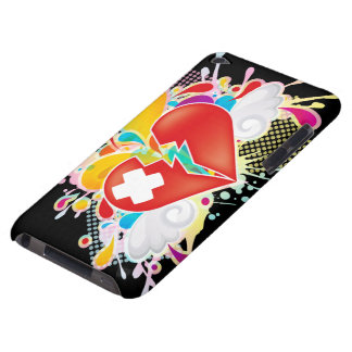Angel_Heart Barely There iPod Case