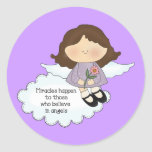 Angel Miracles Sticker