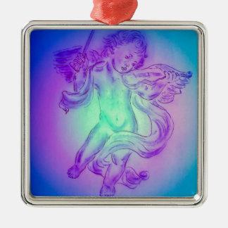 Angel Silbernes Ornament