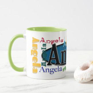 Angela-Kaffee-Tasse Tasse