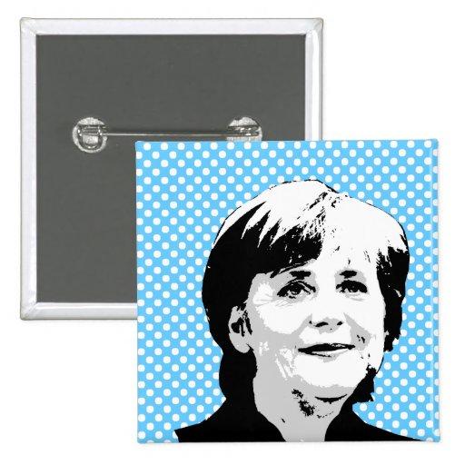 Angela Merkel Button