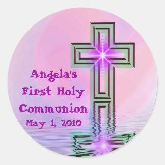 Angelas erste heilige Kommunions-Aufkleber