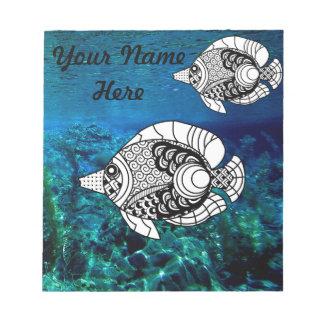 AngelFish-persönlicher Notizblock