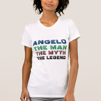 Angelo der Mann, der Mythos die Legende T-Shirt