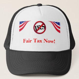 Angemessene Steuer jetzt! Hut Truckerkappe