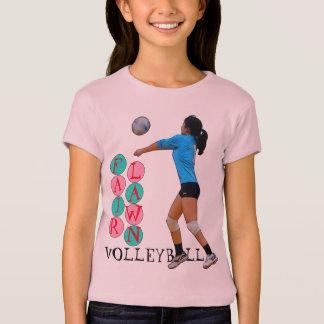 Angemessener Rasen-Volleyball T-Shirt
