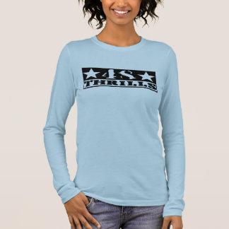 Angepasste lange die Hülse 48 der Frauen Thrills T Langarm T-Shirt