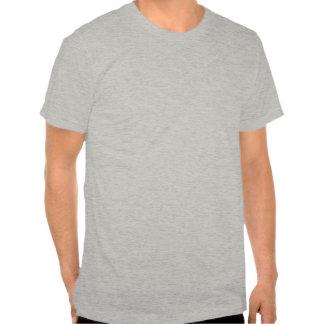 Angepasste T-Stück der grauen Männer alte SchuleBo T-shirt