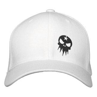 Angepasster gestickter Schädel-Hut Bestickte Mütze