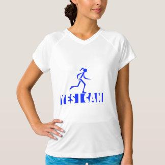 Angepasster V-Hals T-Shir Leistung der Sport-Tek T-Shirt