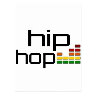 Angesagte Hopfenmusik mit Stereoentzerrer Postkarte