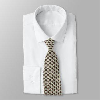 Angesagte lustige Bärte u. Brillen auf Beige Krawatten