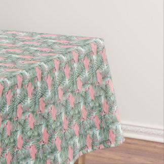 Angesagte rosa Flamingo-niedliches Tischdecke