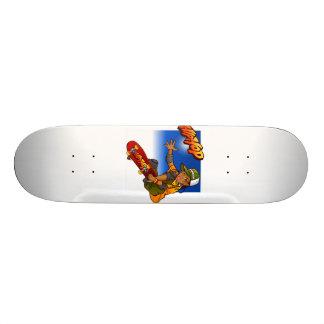 Angesagter Hopfenmädchen Skateboard Cartoon Individuelles Deck