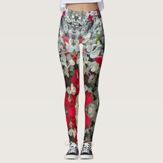 Hip and Stylish Red Gray Flower Design