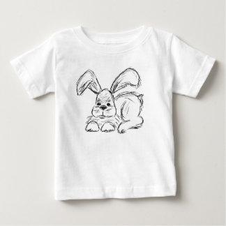 Angesagtes Hopfen, ein Häschen-Kaninchen Baby T-shirt