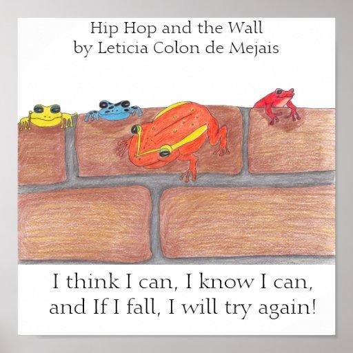 Angesagtes Hopfen und das Wand-Plakat - besonders