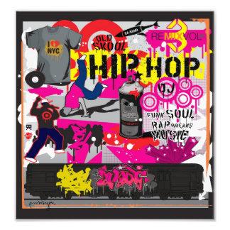 Angesagtes Hopfenkunst-Plakat Kunst Foto
