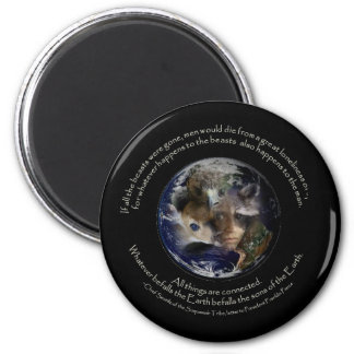 angeschlossen runder magnet 5,1 cm