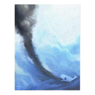 Angeschwemmt Postkarte
