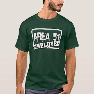 Angestellt-T - Shirt des Bereichs-51