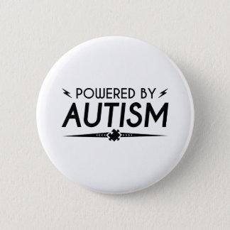 Angetrieben durch Autismus Runder Button 5,7 Cm