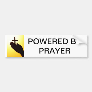 Angetrieben durch Gebets-Autoaufkleber Autoaufkleber