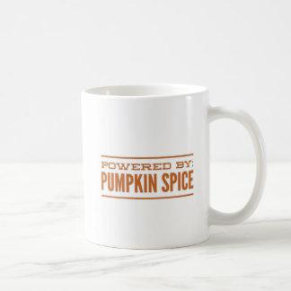 Angetrieben durch Kürbis-Gewürz Kaffeetasse