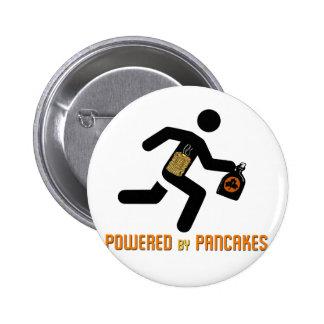 Angetrieben durch Pfannkuchen Runder Button 5,7 Cm