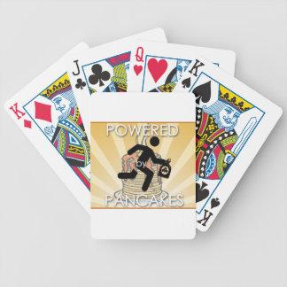 Angetrieben durch Pfannkuchensunrays-Logo - Hygge Bicycle Spielkarten