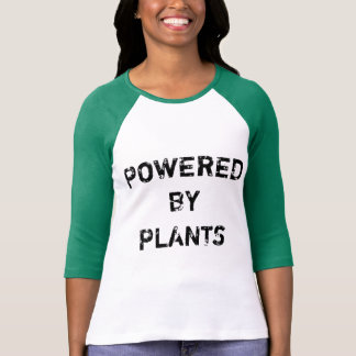 ANGETRIEBEN DURCH PFLANZEN T-Shirt