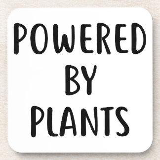 Angetrieben durch Pflanzen Untersetzer