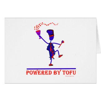 Angetrieben durch Tofu Karte