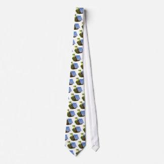 angetriebene Solarschnecke 3d Personalisierte Krawatten